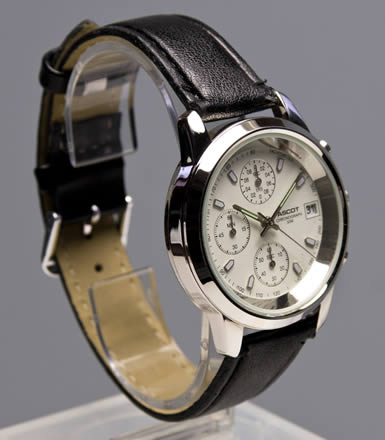 Herren armbanduhr ascot chronograph